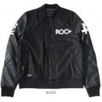 ROCA WEAR BASEBALL JACKET BLACK