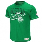 Mitchell & Ness NBA PRE-GAME VINTAGE TEE Boston Ce