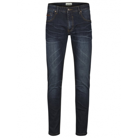 Shine Original Nohavice Tapered Fit Jeans Night Ocean