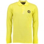 Geographical Norway Kacardi Ls Polo Shirt Light Yellow