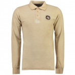 Geographical Norway Kacardi Ls Polo Shirt Beige