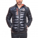 Geographical Norway Brith Jacket With Headphone Black