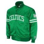 Mitchell & Ness NBA BACKUP SATIN JACKET Boston Cel