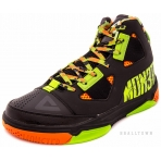 PEAK Basketball Shoes E53231A Black/Fluorescense Green