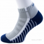 PEAK LOW CUT SOCKS W14901 DK.BLUE/GREY