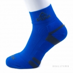 PEAK LOW CUT SOCKS W14905 ADDI BLUE/DK.GREY