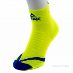 PEAK BASKETBALL SOCKS W453031 FLUORESCENT YELLOW