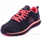 PEAK Running Shoes E54518H Black/Bright Apricot Pink