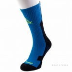 PEAK BASKETBALL SOCKS W453021 MID.BLUE/BLACK