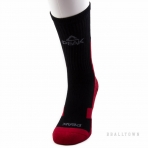 PEAK BASKETBALL SOCKS W453021 BLACK/RED
