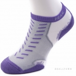 PEAK SOCKS W153072 LT.PURPLE