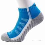 PEAK LOW CUT SOCKS W14902 ROYAL/GREY