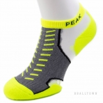 PEAK SOCKS W153131 FLUORESCENT YELLOW