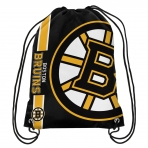 Forever Collectibles Cropped Logo Drawstring Bag NHL Boston Bruins
