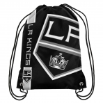 Forever Collectibles Cropped Logo Drawstring Bag NHL Los Angelas Kings