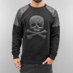 Dangerous DNGRS Skull Sweatshirt Black