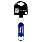 Forever Collectibles NFL Bottle Opener Keyring Denver Broncos