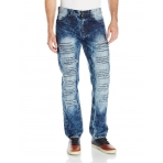 SOUTH POLE RIPPED DENIM PANT LIGHT BLUE