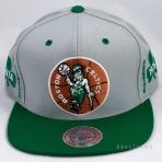 Mitchell & Ness 1976 Nba Champions Snapback Boston Celtics Grey/Green
