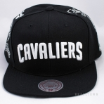 Mitchell & Ness Team Logo History Cleveland Cavaliers Grey/Burgandy