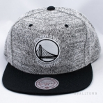 Mitchell & Ness Grey Duster Snapback Golden State Warriors Grey / Black
