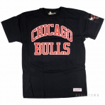 Mitchell & Ness Nba Start Of The Season Traditional Tee Chicago Bulls Black