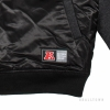 Majestic Brisk Hooded Mix Fabric Jacket Black Oakland Raiders