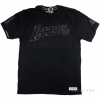 Mitchell & Ness Nba Bank Shot Tailored Tee Los Angeles Lakers Black
