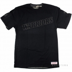 Mitchell & Ness Nba Bank Shot Tailored Tee Golden State Warriors Black
