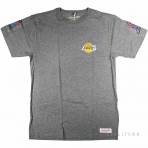 Mitchell & Ness Team History Traditional Tee Los Angeles Lakers Grey