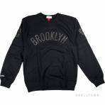 Mitchell & Ness Nba Bank Shot Crew Brooklyn Nets Black