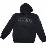 Mitchell & Ness Nba Bank Shot Hoody Brooklyn Nets Black