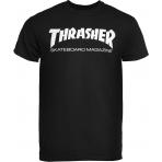 Thrasher Tričko Skate Mag Black
