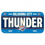 Wincraft License Plate Oklahoma City Thunder