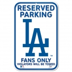 Wincraft Plastic Sign Los Angeles Dodgers