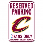 Wincraft Plastic Sign Cleveland Cavaliers
