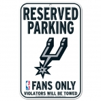 Wincraft Plastic Sign San Antonio Spurs