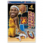 Wincraft Multi Use Decal-Set LeBron James