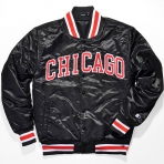 STARTER SATIN CHICAGO BULLS JACKET