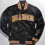 STARTER SATIN LA LAKERS JACKET