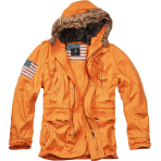 Brandit Vintage Explorer Stars & Stripes orange