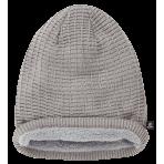 Brandit Beanie JOHN Ajour-knitted grey