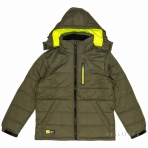 PEAK Heavy Padded Jacket F554371 Forest Green