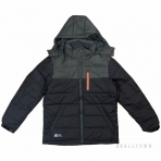 PEAK Heavy Padded Jacket F554371 Black