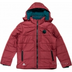 PEAK Heavy Padded Jacket F554381 Rumba Red