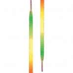 Tubelaces White Flat 120Cm Rainbow