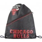 Forever Diagonal Zip Drawstring Bag NBA Chicago Bulls