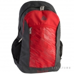 PEAK BACKPACK B154100 DK.GRAY/CHALLENGE RED