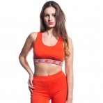 Grimey Girl The Heat Sport Top Red