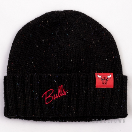 Mitchell & Ness TC Heather Script Knit Beanie NBA Chicago Bulls